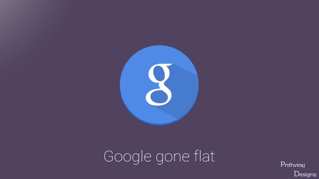 Google Gone Flat
